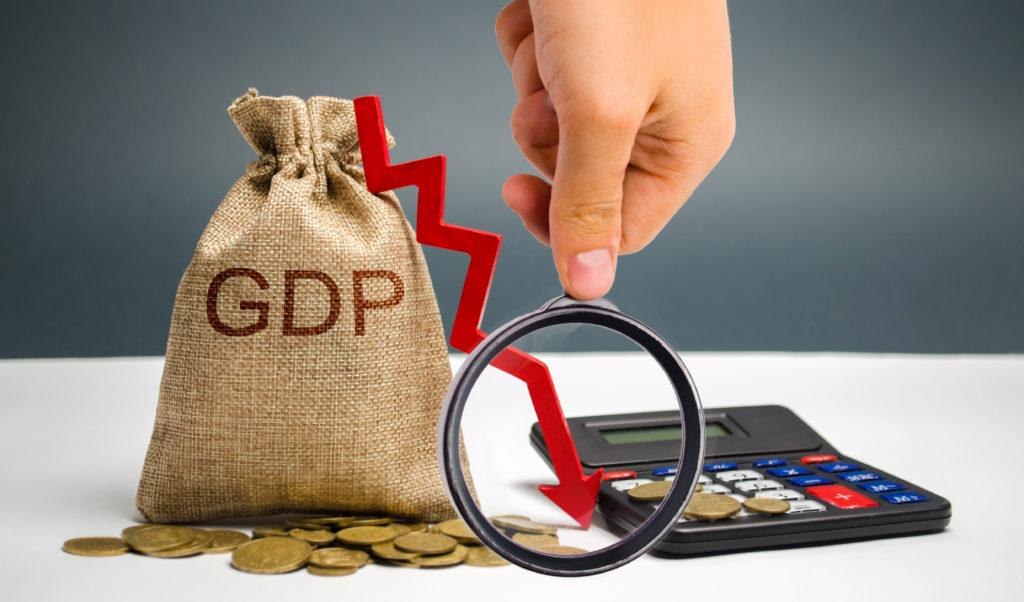 GDP 年27%減(4~6月期)