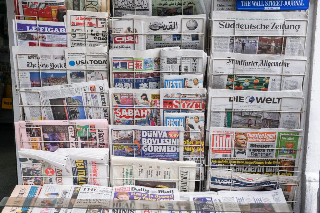 新聞販売店の経営について